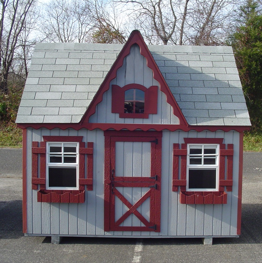 Wooden playhouses blog for Wooden playhouse designs